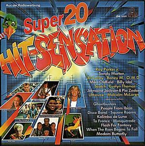 Super 20 Hit-Sensation - Cover