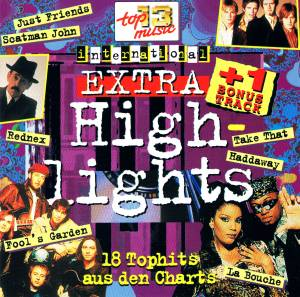 Cover - Haddaway: 18 Top Hits Aus Den Charts - Extra Highlights 1995
