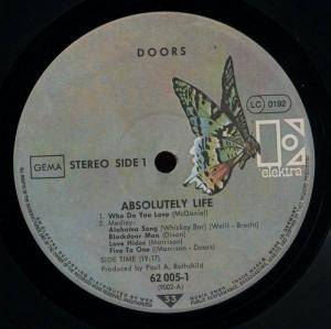 The Doors: Absolutely Live (2-LP) - Bild 2