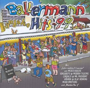 Cover - DJ Visage: Ballermann Hits '99