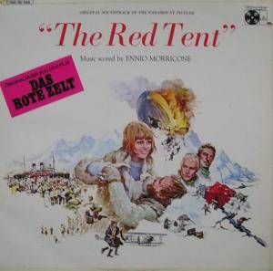 Ennio Morricone: Red Tent, The - Cover