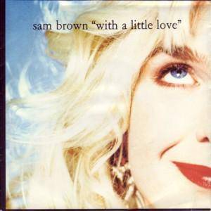 Sam Brown: With A Little Love - Cover