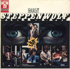 Steppenwolf: Early Steppenwolf - Cover