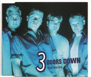 Cover - 3 Doors Down: Duck And Run