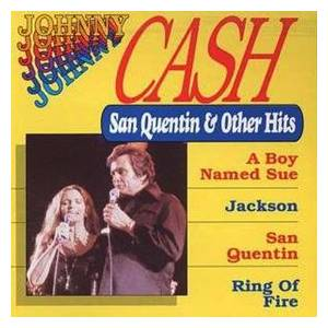 Johnny Cash: San Quentin & Other Hits - Cover