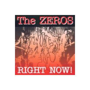 Cover - Zeros, The: Right Now!
