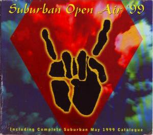 Cover - Space Age Playboys: Suburban Open Air '99