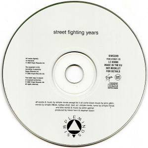 Simple Minds: Street Fighting Years (CD) - Bild 5