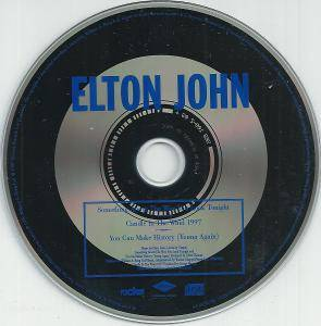 Elton John: Something About The Way You Look Tonight / Candle In The Wind 1997 (Single-CD) - Bild 3