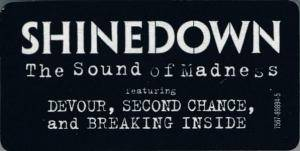 Shinedown: The Sound Of Madness (CD) - Bild 6