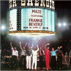 Cover - Maze Feat. Frankie Beverly: Live In New Orleans