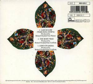 Tears For Fears: Laid So Low (Tears Roll Down) (Single-CD) - Bild 2