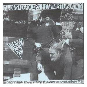 Capitalist Casualties: Liberty Gone E.P. - Cover