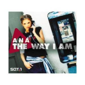 Cover - Ana Johnsson: Way I Am, The