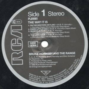 Bruce Hornsby & The Range: The Way It Is (LP) - Bild 5