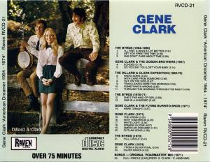 The Byrds / Dillard & Clark / Gene Clark / The Flying Burrito Brothers: American Dreamer 1964-1974 (Split-CD) - Bild 2