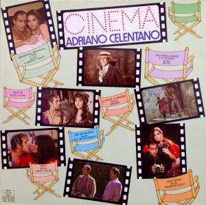 Adriano Celentano: Cinema - Cover