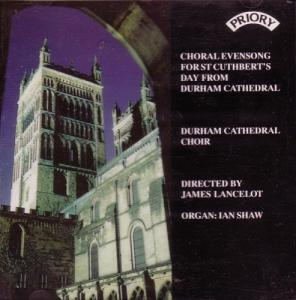 Evensong For St Cuthbert's Day From Durham Cathedral - Cover