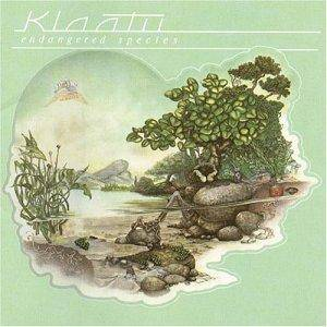 Klaatu: Endangered Species - Cover