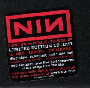 Nine Inch Nails: The Slip (CD + DVD) - Bild 2