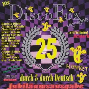 Blue Magic - Die Disco Fox Highlights Vol. 25 - Cover