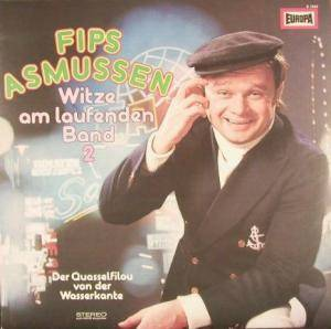 Fips Asmussen: Witze Am Laufenden Band 2 - Cover