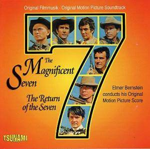 Cover - Elmer Bernstein: Magnificent Seven / The Return Of The Seven, The