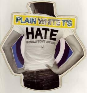 Cover - Plain White T's: Hate (I Really Don't Like You)