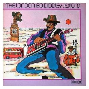 Bo Diddley: London Bo Diddley Sessions, The - Cover