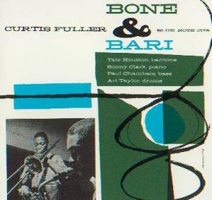 Cover - Curtis Fuller: Bone & Bari