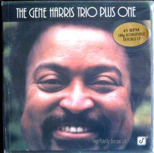 Cover - Gene Harris: Gene Harris Trio Plus One, The