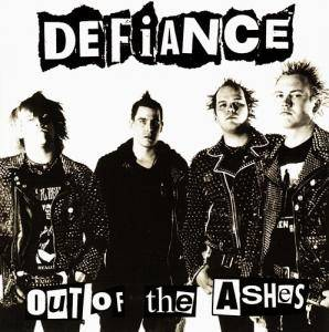 Defiance: Out Of The Ashes - Cover