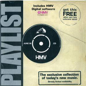 HMV - Playlist 40 ~ June 2006 - Cover