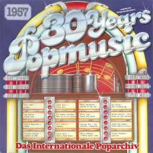 30 Years Popmusic 1957 - Cover