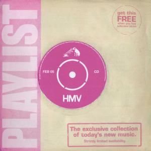 Cover - Various Artists/Sampler: HMV - Playlist 27 ~ Feb 05