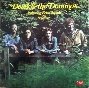 Derek And The Dominos: In Concert - Cover