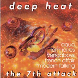 Deep Heat - The 7th Attack - Cover