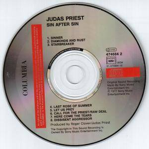 Judas Priest: Sin After Sin (CD) - Bild 4