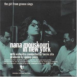 Nana Mouskouri: Nana Mouskouri In New York - Cover