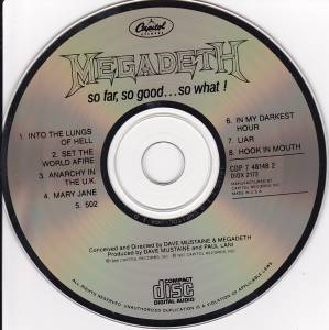 Megadeth: So Far, So Good... So What! (CD) - Bild 4