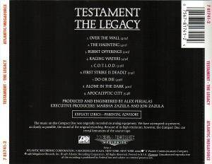 Testament: The Legacy (CD) - Bild 3