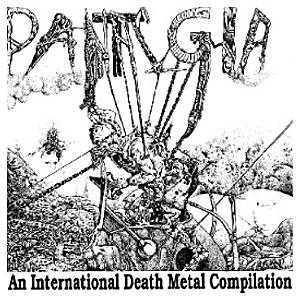 Pantalgia - An International Death Metal Compilation - Cover