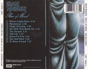 Iron Maiden: Piece Of Mind (CD) - Bild 2