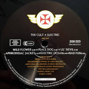 The Cult: Electric (LP) - Bild 5