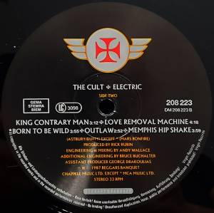 The Cult: Electric (LP) - Bild 6