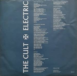 The Cult: Electric (LP) - Bild 8