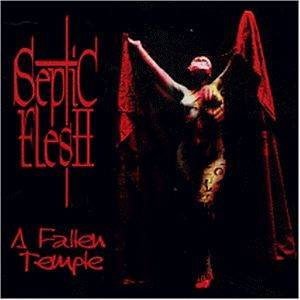 Cover - Septic Flesh: Fallen Temple, A