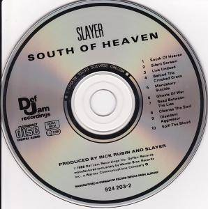 Slayer: South Of Heaven (CD) - Bild 4