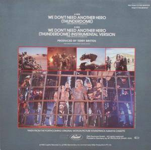 "Tina Turner: We Don't Need Another Hero (Thunderdome) (12"") - Bild 3"