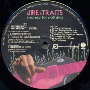 Dire Straits: Money For Nothing (LP) - Bild 3